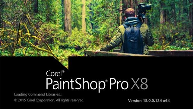 Corel PaintShop Pro X8 CRACK Ultimate 18.0.0.124 FREE DOWNLOAD