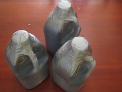 La Botella aprox. 1,5 Litros (- 50 FL OZ) preparada para el envio