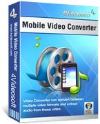 4Videosoft มือถือ Video Converter v5.0.8 Full Patch Box