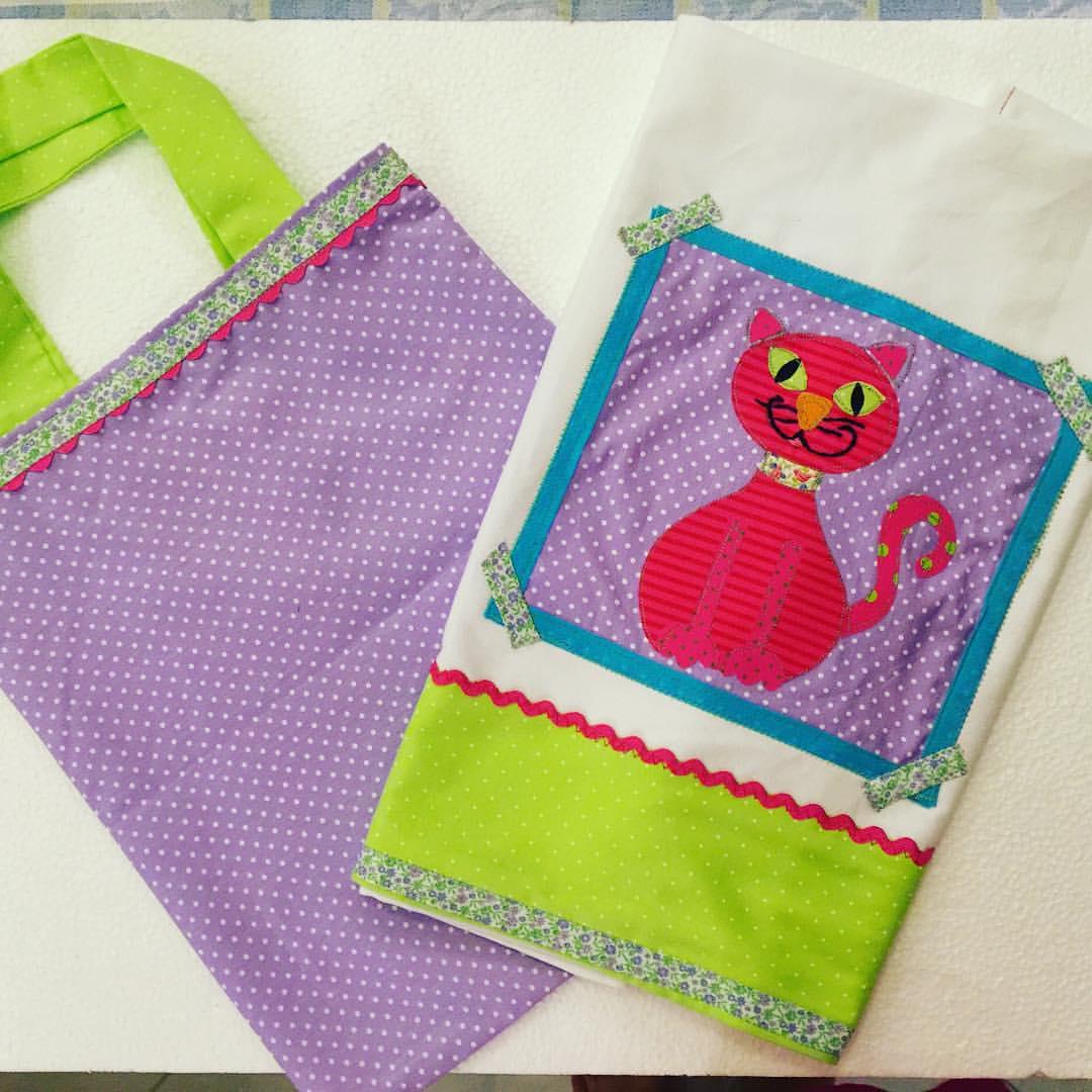 Tea Towels Pillow Talk: Fazendo Fita