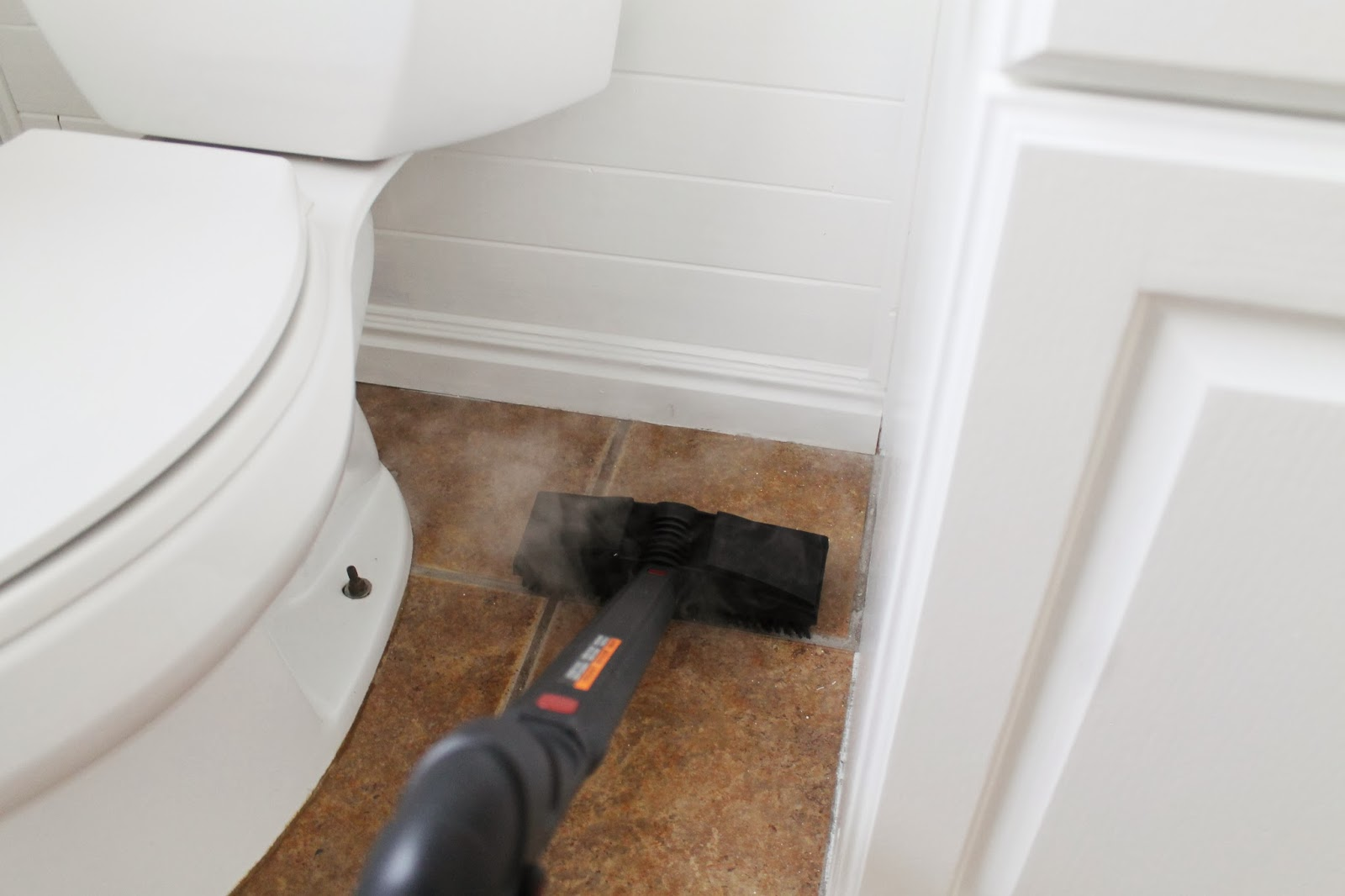 Cleaning Tile Floors Without Chemicals - Chris Loves Julia