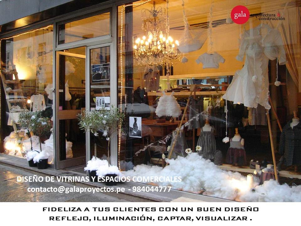 Dise o de vitrinas comerciales kn design studio - Vitrinas de diseno ...