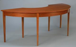 Demilune Desk