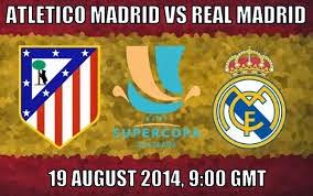 Ver Online Real Madrid vs Atlético Madrid / Partido de Ida Supercopa de España (19 Agosto 2014) (HD)