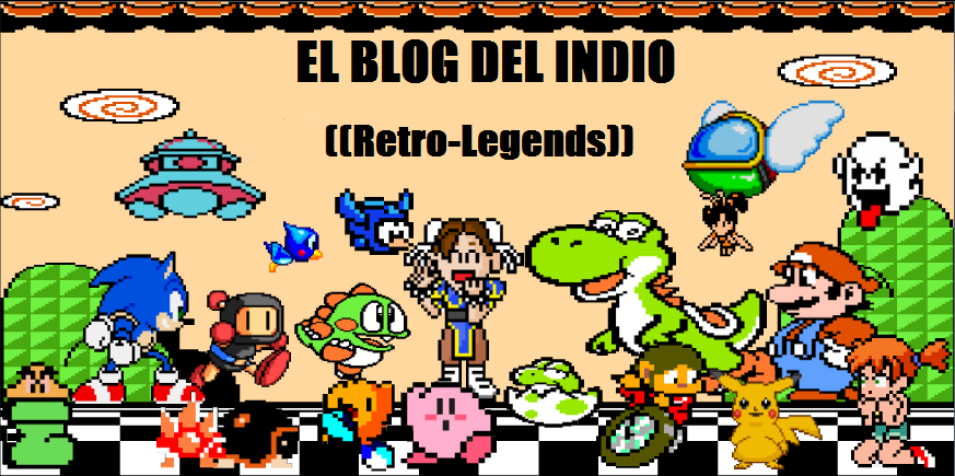 "El blog de ""El indio"" (the legend)."