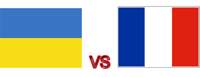 Data Dan Fakta Ukraina Vs Prancis [ www.BlogApaAja.com ]