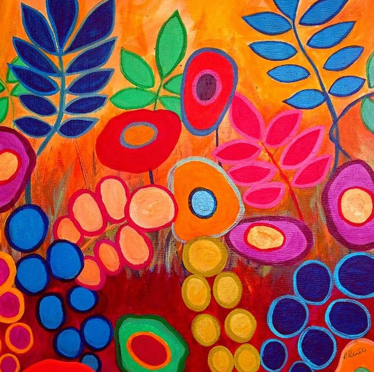 pinturas-de-flores-modernas