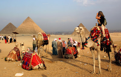 pirámides de Egipto, turismo