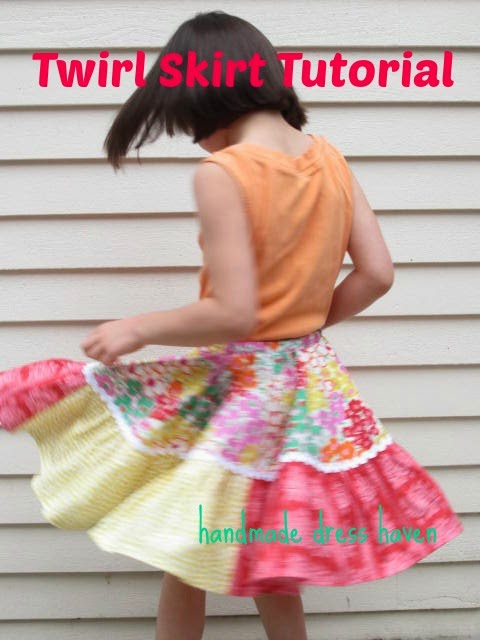 twirly skirt tutorial