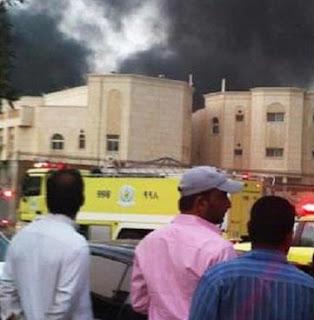 Konsulat Jenderal RI di Jeddah Rusuh dan Terbakar
