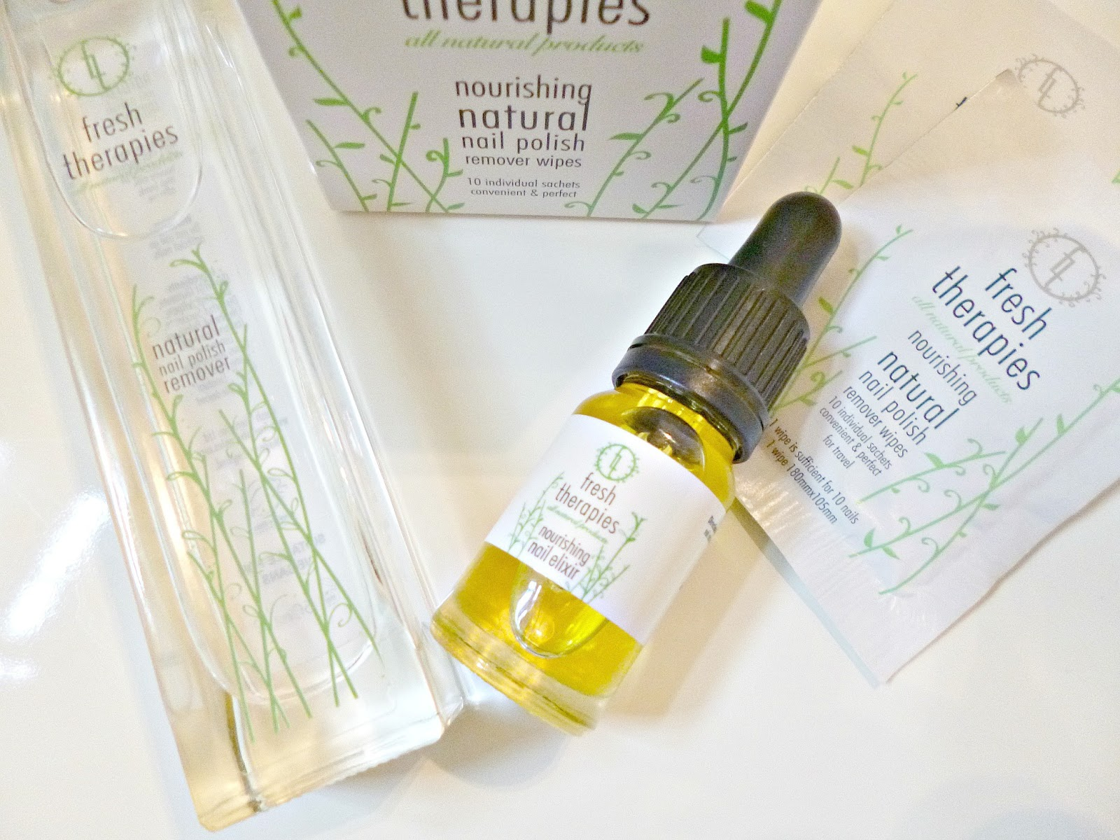 Fresh Therapies Nail care review - Ana goes green...