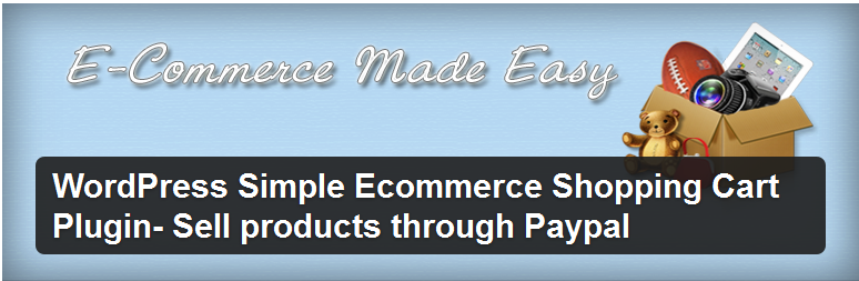 wordpress simple ecommerce shopping cart