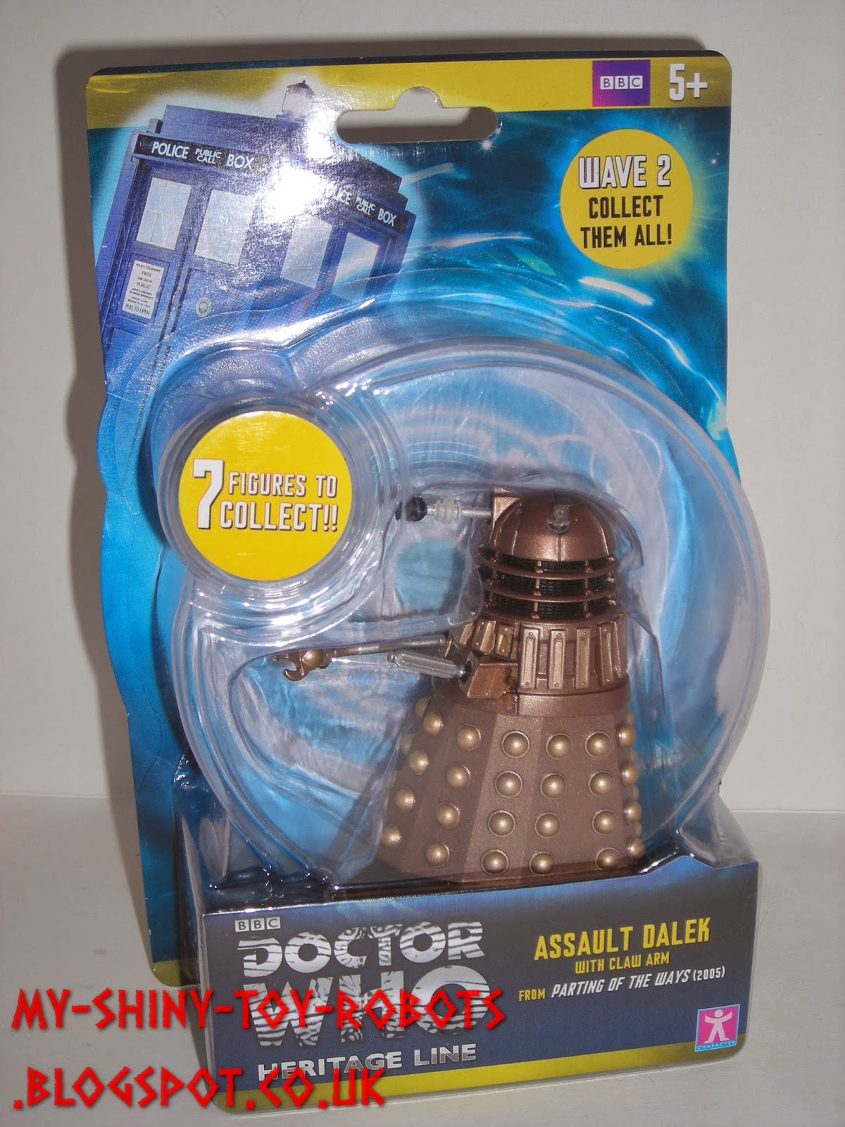 Assault Dalek in packaging