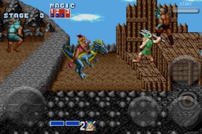 download arcade game portable golden axe