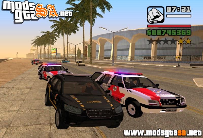 SA - Mod Políciais Mais Inteligente V2.1