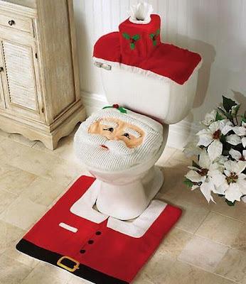 arranjos  de Natal para banheiro