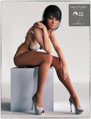 3d Models Art Zone - Jesslyn for Genesis 3 Female(s)