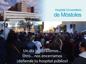 ENCIERRO DE TRABAJADORES/AS DEL HOSPITAL DE MOSTOLES