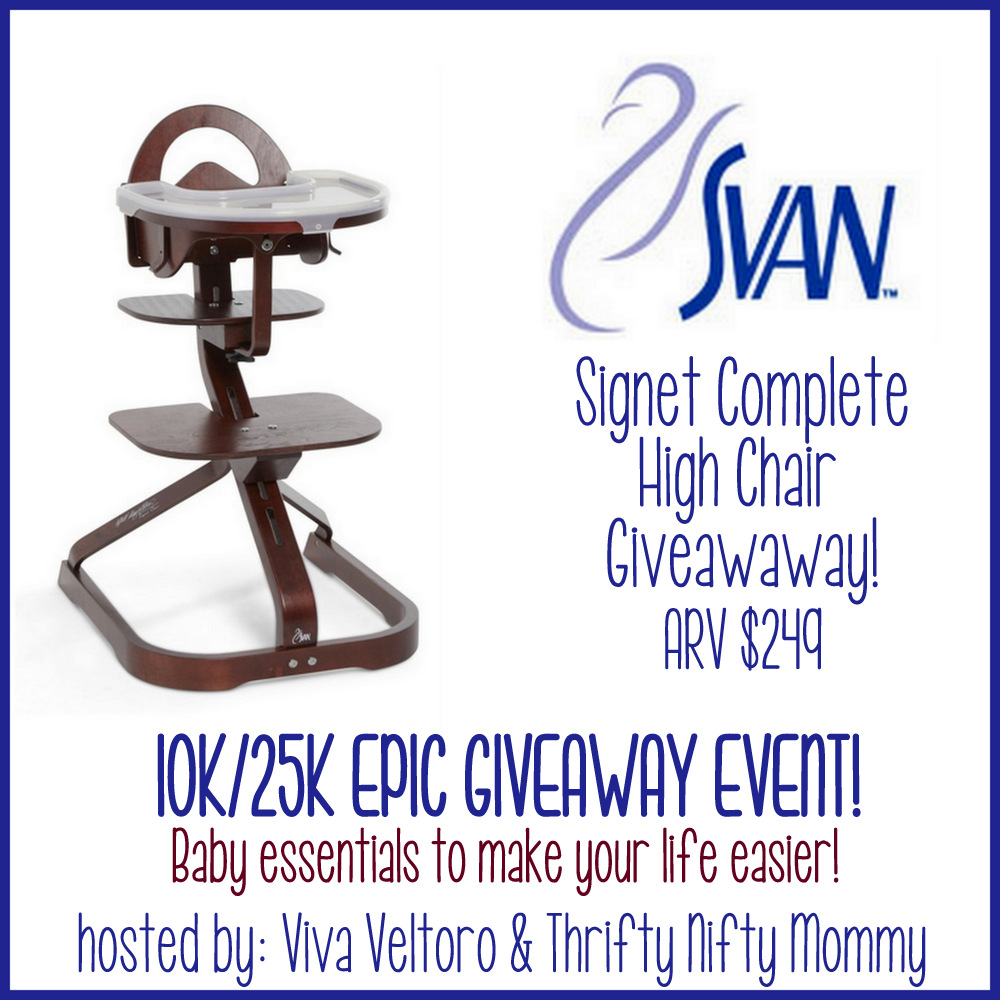 #Win A SVAN Signet Complete High Chair