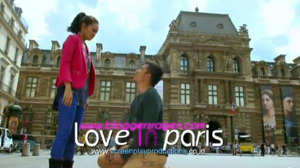 Pemain Film Love in Paris