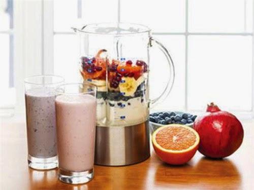 Thành phần sinh tố cần tránh khi ăn kiêng