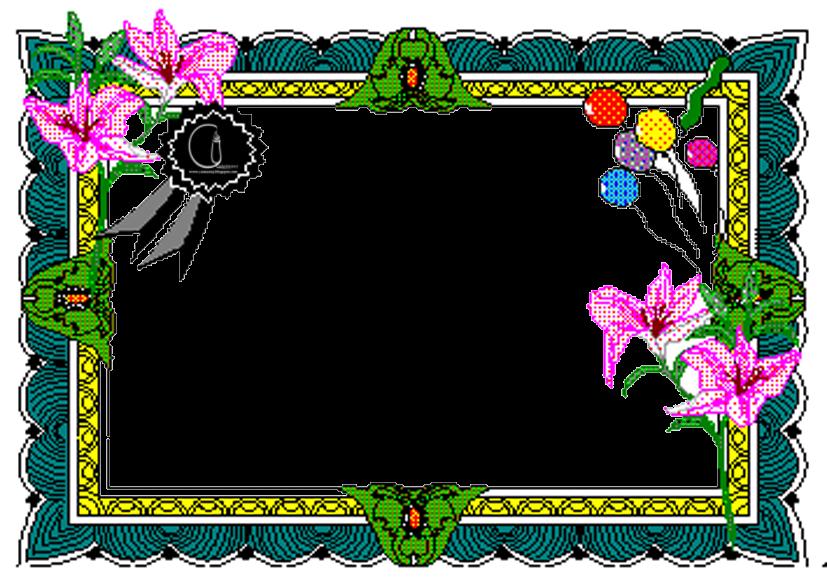 Beautiful Flower Frames