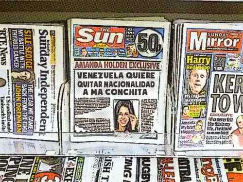 NewsStands María Conchita Alonso