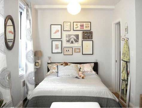 Small master bedroom decorating ideas dream house experience - Tiny master bedroom ideas ...