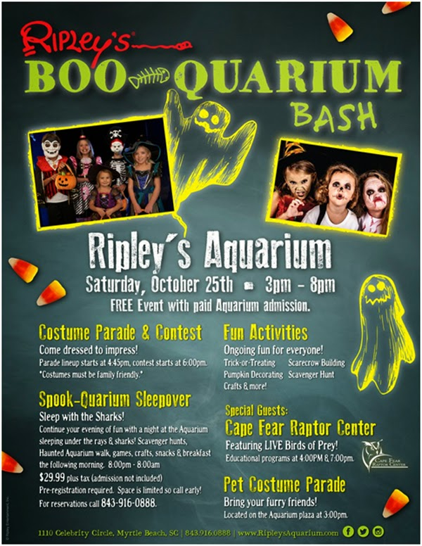 Riplaye's Aquarium Halloween Party