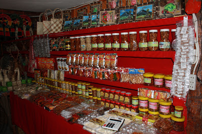 Souvenir and Food Kiosk at Cagsawa Church