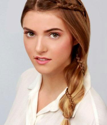 3 peinados fáciles con coletas de lado Para cada día YouTube - Peinados Con Coleta De Lado
