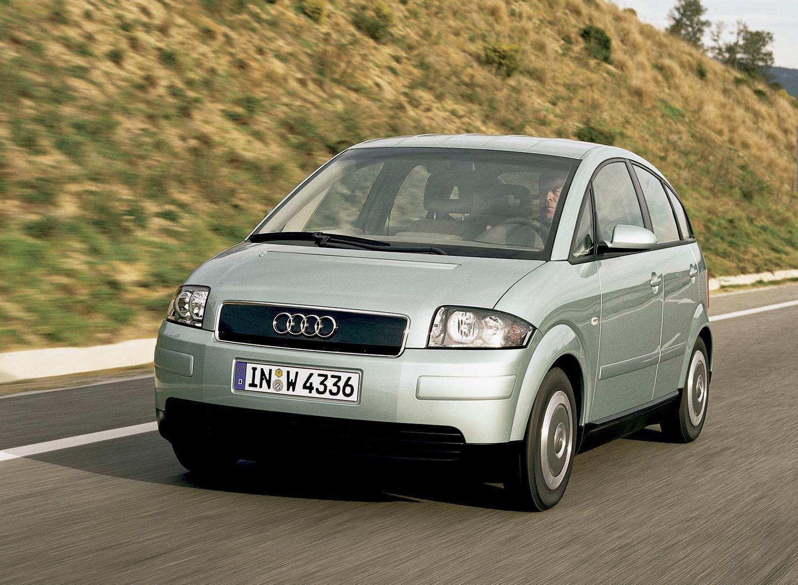 Audi A2 2001 Desktop Wallpaper