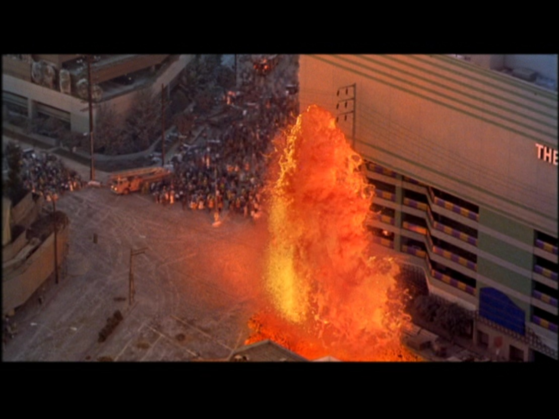 a review of the movie volcano Volcano is one of those films (like last year's twister and independence day) for which it doesn't matter what i (or any other critic) have to say disaster movie junkies will go to get their fix those who can't tell the difference between the towering inferno and die hard will stay away still.