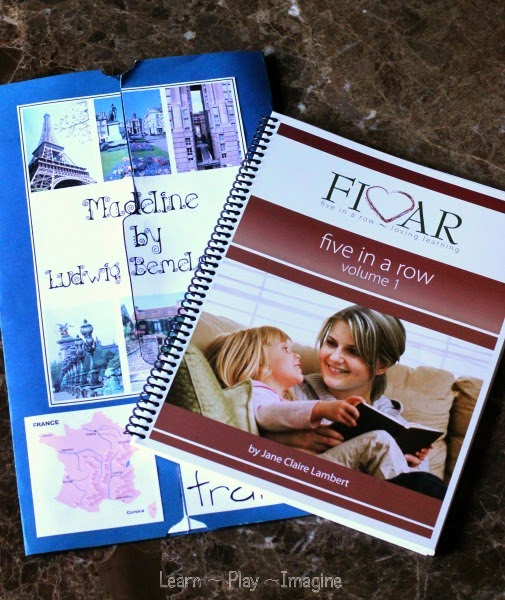 FIAR - Five in a Row literature based homeschool curriculum