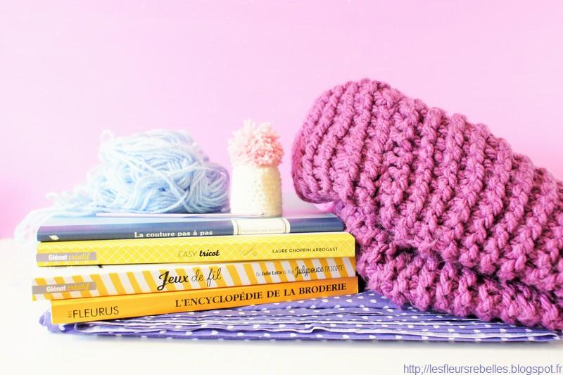 apprendre a broder tricoter