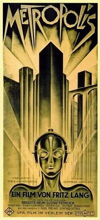 Poster original de Metrópolis
