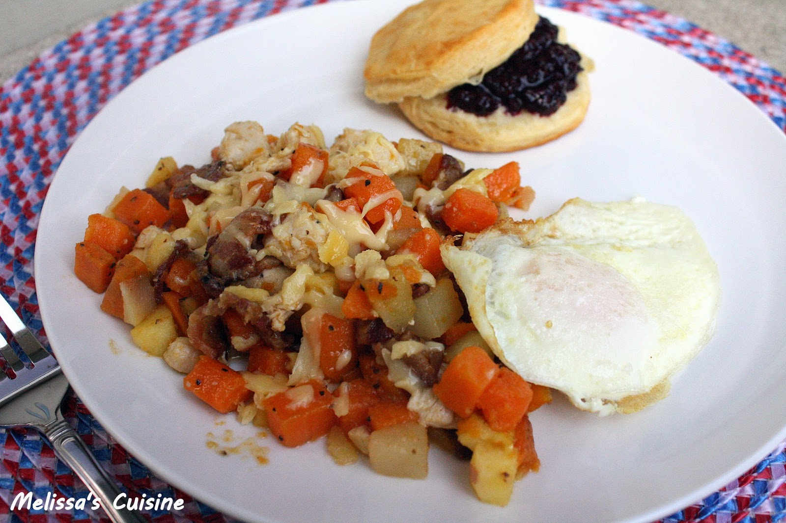 Melissa's Cuisine: Apple Chicken Potato Hash