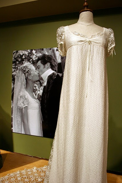 Vintage Wedding Dresses in the movies: Gwyneth Paltrow's original dress for Emma