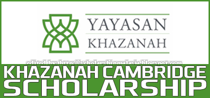 Yayasan Khazanah Cambridge Scholarship Programme for Undergraduate and Postgraduate Degree Master Ph.D