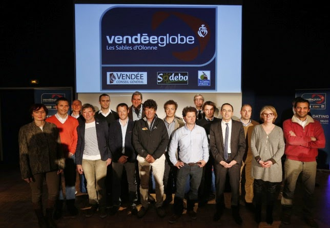 Speed dating pour le Vendée Globe 2016.