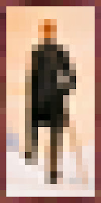 Minecraft tall man wall picture