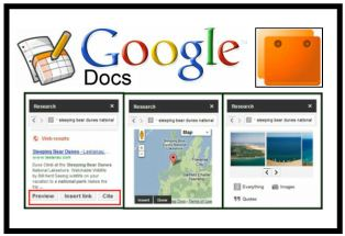 research tool added to google presentation cool tools for