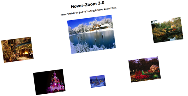 Hover-Zoom – Image Zoom on Mouse Hover with Transparency Effect
