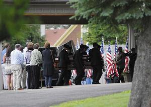Ryan Dunn Funeral Open Casket