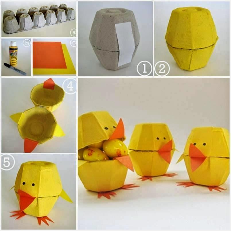 Ячейки от яиц поделки