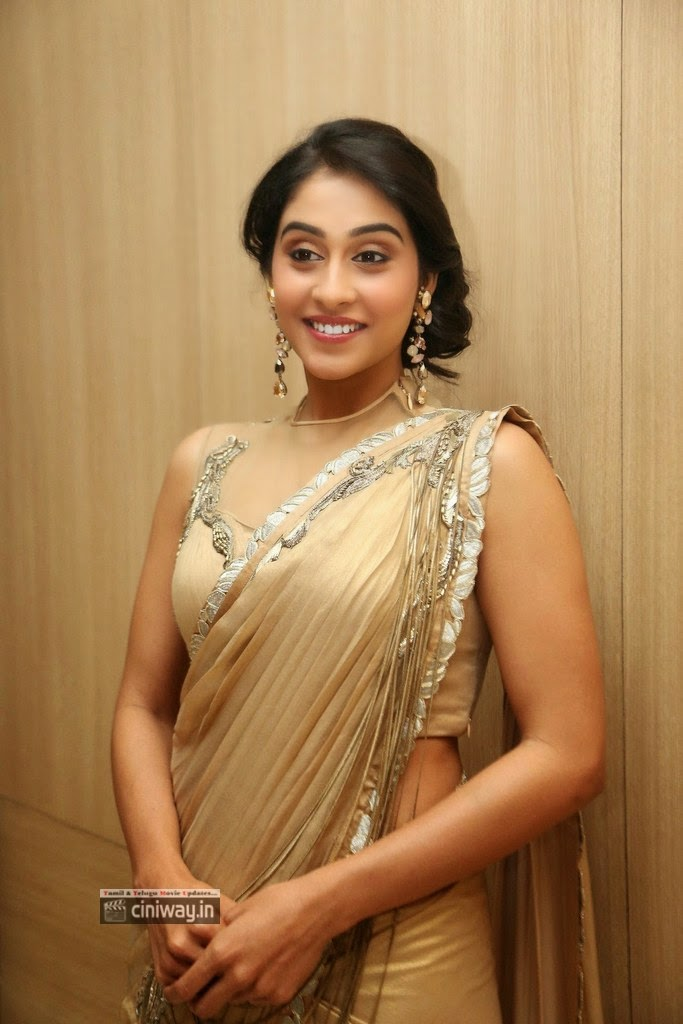 Regina-Cassandra-latest-Stills-in-Saree