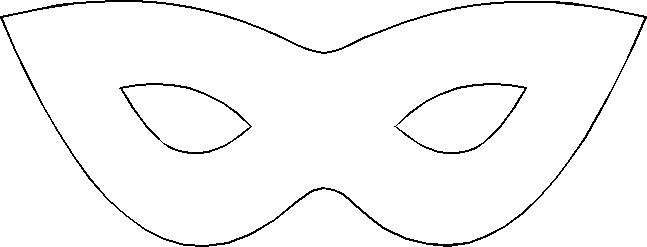 Juicy image throughout masquerade mask template printable