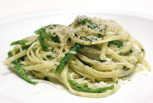 Vegetable Garden Linguine Recipes — Dishmaps