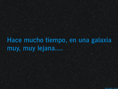 intro star wars, texto, galaxia lejana