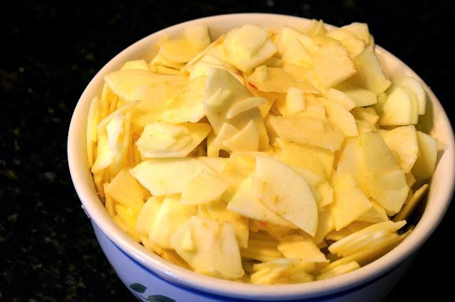 Freezer Apple Pie Filling, Food Saver